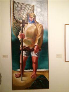 'Saragaceiro' Minho, óleo s/ tela de José Almada Negreiros