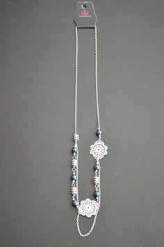 Blue Paparazzi Jewelry set