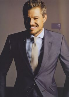 Eric Dane -as Mark Sloan-Grey's Anatomy. Miss his character! Gorgeous Men, Beautiful People, Beautiful Boys, Dead Gorgeous, Charcoal Gray Suit, Gray Suits, Gray Tux, Mark Sloan, Eric Dane