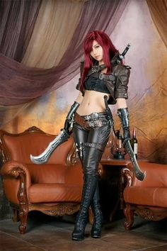 Katarina - League of legends Cosplay - THE PILINGUI'S HOUSE
