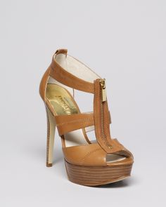 c8e62d235d4c MICHAEL Michael Kors Platform Sandals- Berkley High Heel
