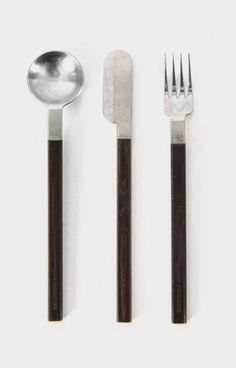 Raymond Loewy. 1960's Cutlery for Air France Concorde.