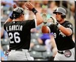 Avisail Garcia, Jose Abreu Chicago White Sox Stretched Canvas 2014,MLB Baseball AAQR213 Avisail Garcia & Jose Abreu 2014 Action. 16x20, 20x24, 24x30 Canvas Sizes Available. Officially Licensed MLB Baseball Canvas. Canvases are stretched around a wood frame. Wire for hanging not included. Please allow 3-5 business days as canvases are made to order.
