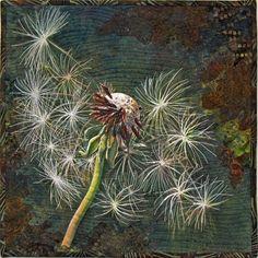 Dandelion BLOWIN' IN THE WIND - by Nancy Messier