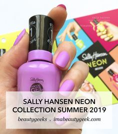 Another neon collection for Summer This one is the Sally Hansen Miracle Gel Neon Collection that should be in-store all over the place as of right, right now. Summer Nails Neon, Neon Nails, Nails Yellow, Pink Nails, Neon Nail Colors, Nail Colour, Lego Sets, Essie, Gel Nails French