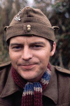 Ian Lavender, actor (Dad's Army). Born in Birmingham in lifelong Aston Villa supporter British Comedy, British Actors, British Humour, American Actors, Jimmy Perry, Bbc Tv Series, Comedy Series, Dad's Army, Nostalgia