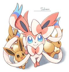 Syleveon and Eevee