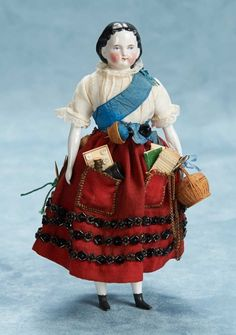 "Small Courtesies: 56 German Porcelain Doll as ""The Work-Table Companion"""