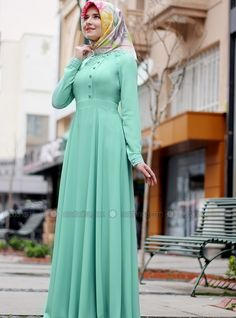 Nisa Dress - Mint - Lâl By Hilal