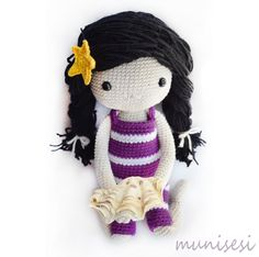 Ready for holiday? my little amigurumi girl is! pattern by kessedjian