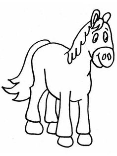 Cartoon Horse Coloring Pages from Animal Coloring Pages category. Printable coloring sheets for kids that you could print and color. Have a look at our series and printing the coloring sheets free of charge. Horse Coloring Pages, Cool Coloring Pages, Coloring Pages To Print, Printable Coloring Pages, Adult Coloring Pages, Coloring Books, Coloring Games For Kids, Coloring Pages For Teenagers, Coloring Sheets For Kids
