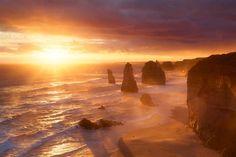 Belíssimas Fotos do Sol Nascendo no Mundo Todo                     Austrália