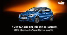 BMW Tasarladı, Biz Kiralıyoruz! BMW 2 Serisi Active Tourer Sixt rent a car'da. #sixtturkiye #sixt #sixtturkey