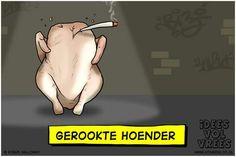 Gerookte Hoender