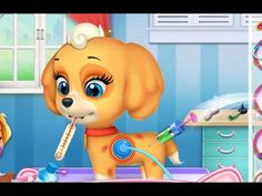 My Cute Little Pet Puppy   Kids Learn How to Take Care of Cute Puppy