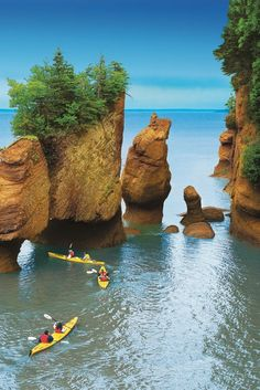 The Bay of Fundy in New Brunswick. Click to check out 150 photos from coast to coast to coast that prove Canada is the prettiest country on the planet!