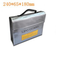 RC LiPo Battery Safety Bag Safe Guard Charge Sack Fireproof Explosionproof  Pouch Protection bags  F16390/92 #Affiliate