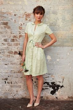 Edith Blossom Collar Dress £52.50