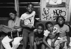 Kids In The Subway New York 1980s
