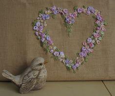 Shooglie Crafts : Roses linge et une ferme Francais