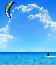 kitesurfing - dziś mi sie śniło, że szaleje na zatoce gdańskiej na kajcie...mmmmmmm....