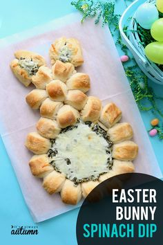 Easter Bunny spinach