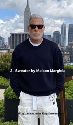 Nick Wooster, Gentleman, Sweaters, Closet, Outfits, Style, Fashion, Home, Swag