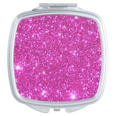 Compact Cosmetic Mirror Girlie Pink Sparkly Gift 2 Compact Mirror @zazzle #pink #sparkly #glitter #glittery #fantastic #dazzle #fabulous #funny #compact #mirror #accessory #accessories #women #fashion #style #shop #shopping #buy #sale #gold #black #lettering #humor #makeup #cosmetics #cool #sweet #nice #awesome #look #blog #blogging
