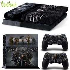 1)High quality vinyl sticker for ps4 2)For front side, left side, right side and 2 remote controllers. 3)Digitally designed and cut for a guaranteed fit. 4)Prevent scratch and dust. #gameofthrones #gameofthronesseason6 #gamesofthronesps4 #gameofthronesgifts #tshirt  FREE SHIPPING WORLDWIDE  11.99