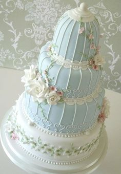 Beautiful Wedding Cakes - Beautiful Wedding Cakes - Wedding cakes must be the favor of all who indulge. There are so many cake ideas, Kerala wedding cakes Amazing Wedding Cakes, Unique Wedding Cakes, Unique Cakes, Unique Weddings, Elegant Cakes, Indian Weddings, Gorgeous Cakes, Pretty Cakes, Bird Cage Cake