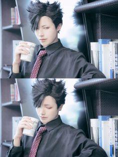 Real life Kuroo Tetsurou (Cosplay). Too pretty to be real (●´∀`●)