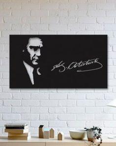 Atatürk Metal Poster