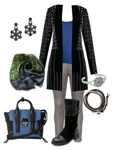 """""""Untitled #899"""" by kelly-haven-russell ❤ liked on Polyvore featuring 3.1 Phillip Lim, Bohème, WearAll, Kate Spade and Lucky Brand"""