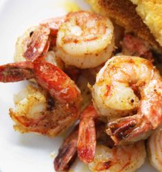 Isalnd pan-barbecued shrimp