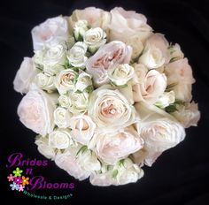 Champagne Roses & Spray Roses Bouquet