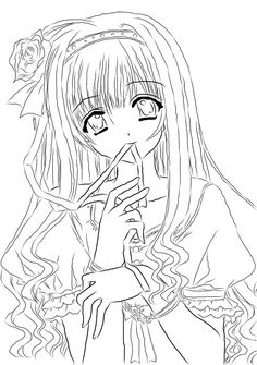 awesome Anime Magical Girl Coloring Pages - ImageStack