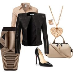 Untitled #824 by bsimon623 on Polyvore featuring Doublju, River Island, Christian Louboutin, FOSSIL and Michael Kors