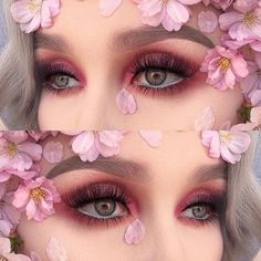 Ethereal eye look by @helenesjostedt feat. REBIRTH from Venus
