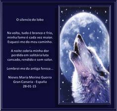 O silencio do lobo : Inspiração José Cabral e Janete Sales-Artes de Marsoalex! - Poetas e Escritores do Amor e da Paz
