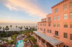 La Jolla Hotels, La Valencia Hotel, One Week, Mediterranean Style, Old World, Coastal, Villa, California, Mansions