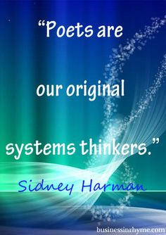 #poetry #business #systemsthinking