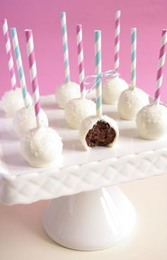 Brownie cake pops de chez I Love Cakes
