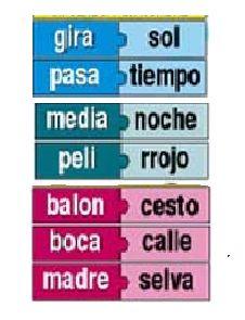 Palabras compuestas-verbo-poesías