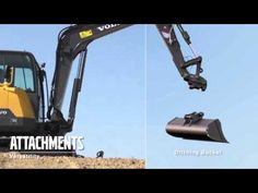 Get more done with the new and improved Volvo compact excavator! Volvo, Compact, Bike, Gym, Youtube, Bicycle, Cruiser Bicycle, Gym Room, Bicycles
