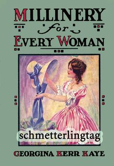 1926 Flapper MILLINERY Book Every Woman by schmetterlingtag, $19.99