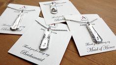 spoon jewelry  monogram  flatware necklace bridal by Amayeli, $18.00