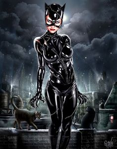 I Am Catwoman, Hear Me Roar by RUIZBURGOS @deviantart