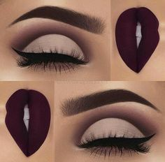 Best Matte Makeup Eyeshadow - Make UP Ideen Matte Makeup, Makeup 101, Makeup Goals, Skin Makeup, Makeup Eyeshadow, Makeup Brushes, Beauty Makeup, Makeup Ideas, Makeup Inspo