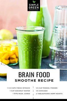 Organic Smoothies, Energy Smoothies, Healthy Smoothies, Healthy Drinks, Healthy Shakes, Protein Shakes, Avocado Smoothie, Green Smoothie Recipes, Juice Smoothie