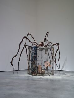 Louise Bourgeois: Spider, 1997, Structures of Existence – The Cells, Guggenheim Bilbao